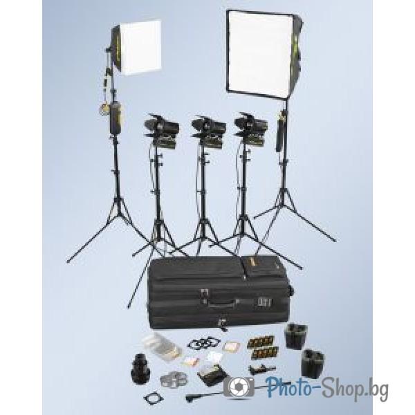5-Light Kit with soft case DSC2/2-200.230V AC
