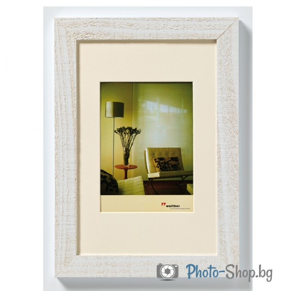 Wooden frame Home 13X18 polar white - Wooden frame Home 13X18 polar ...