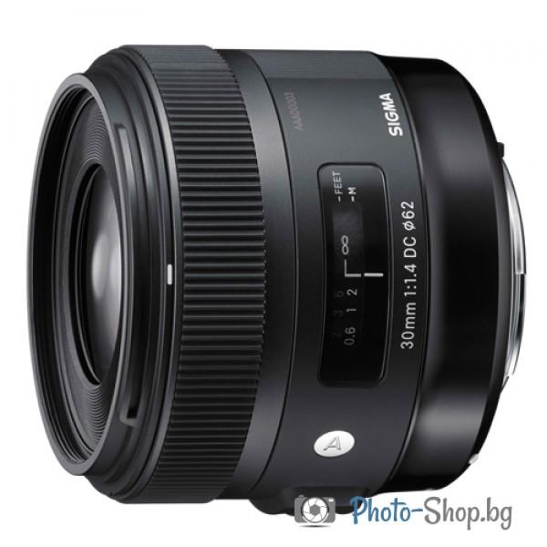 Обектив Sigma 30/1,4 EX DC HSM NEW EDITION ART за Nikon