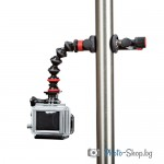 Action Clamp & GorillaPod Arm (Black/Red)