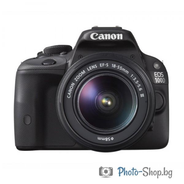 Фотоапарат Canon EOS 100D + EF-s 18-55 DC III