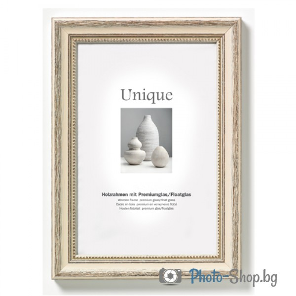 Wooden frame Unique 2 40X50 white - Wooden frame Unique 2 40X50 ...